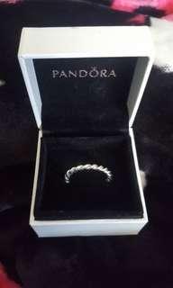 pandora twisted rope ring