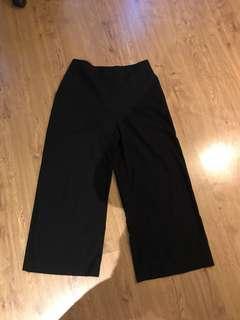 Zara Black Culottes (M)