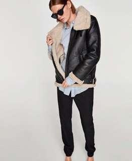 Brand new Zara aviator jacket