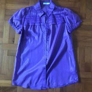 G2000 Purple Blouse