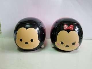 Mickey and Minnie mouse Tsum Tsum 米奇 米妮 老鼠 美心 甜品杯 收納盒