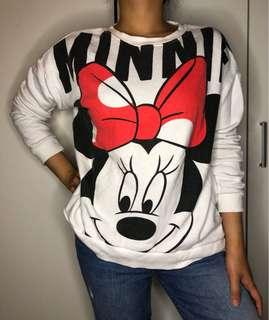 F21 Minnie Mouse pullover SIZE S-M