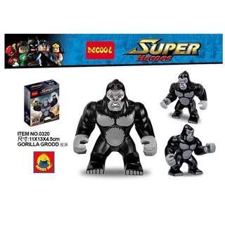 DECOOL™ 0230 DC Gorilla Grodd Maxifigures