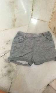 Girl French Terry shorts Grey Size 122cm/5 y
