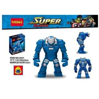 DECOOL™ 0231 Iron Man MARK 38 Igor Maxifigures