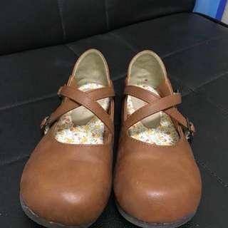 復古 娃娃鞋 休閒鞋