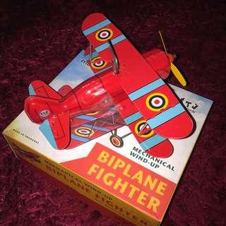 Tin Toy Airplane