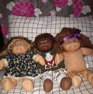 Cabbage Patch Kids doll set