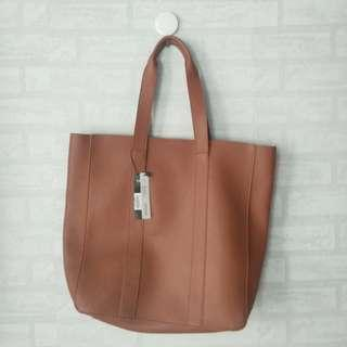 The Executive Brown Tote Bag