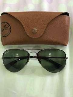 Ray ban polarized aviator sunglasses