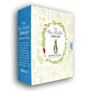 🚚 Peter Rabbit 10-book Library Box Set