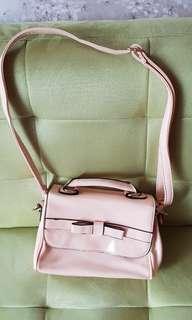 Pink cutie bag