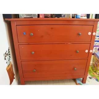 衣物櫃 Chest of 3 drawers