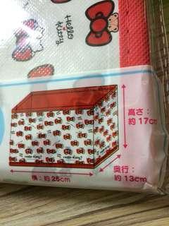 Hello Kitty 收納小盒 (冇蓋)