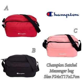 Champion satchel messenger bag