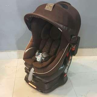 Combi Luxury Baby Car Seat with canopy