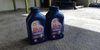 Shell Helix High Mileage 10W-40 (Gasoline only)