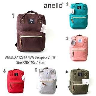 Anello new backpack 2 in 1