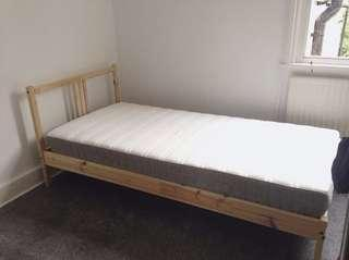 Ikea Bed and Mattress