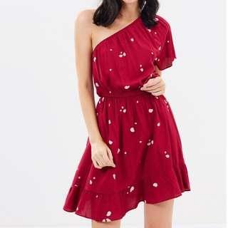 NEW W/ TAG Dazie Love Spell One Shoulder Dress