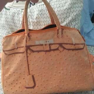 Pre loved Orange Large Bag