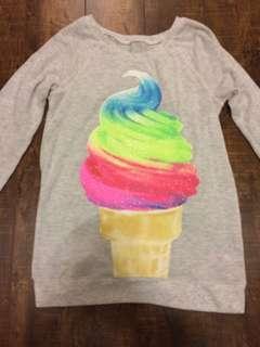 Sparkly ice cream sweater