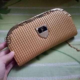 Gold Wallet/ Pouch