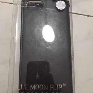 Iphone 7 blue moon flip case
