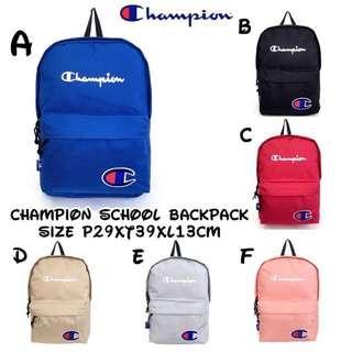 Champion school backpack