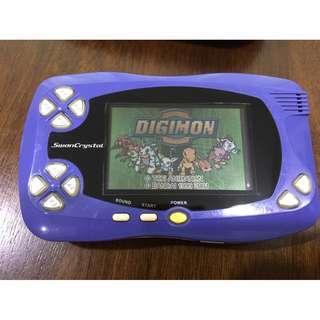 Wonderswan English tape Digimon Anode + Cathode 2 in 1 cart (custom)