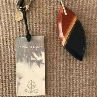 Bold B necklace RRP $65