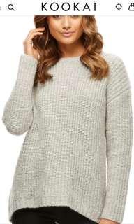 Kookai Roxy Tailed Sweater Size 1