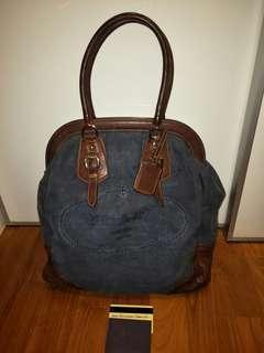 Authentic Prada Denim Bag