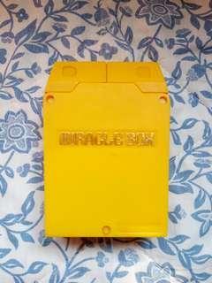 Nintendo playing card miracle box