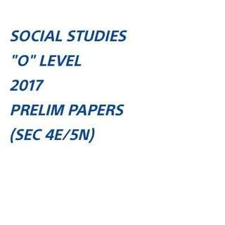 SS 2017 EXAM PAPERS SOFTCOPY