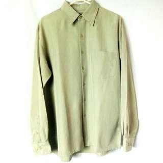Bruno Men's Shirt Sueded Microfiber