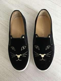 Charlotte Olympia kitty sneakers