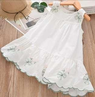 Pure Soft Cotton English Dress