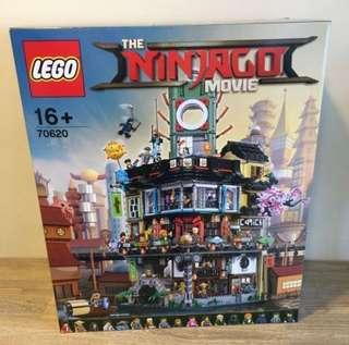*Reserved* MISB Lego 70620 Ninjago City