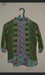 Cardigan batik 2 way