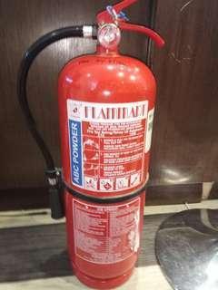FLAMMART 9KG ABC POWDER EXTINGUISHER