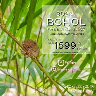3D2N BOHOL FREE AND EASY TOUR PACKAGE