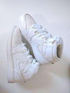 NIKE Air Jordans - White Premium Special Edition