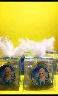 Princess Elsa Pretzels Give -Aways