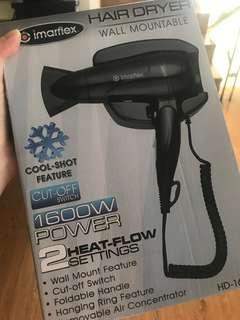 Imarflex brand new in box hairdryer blower