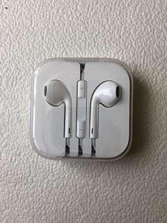 Apple original earphone 耳機 3.5mm jack