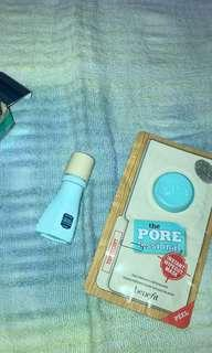 Benefit Pore Professional Sheet Mask & Benefit Age-Defying Serum 5ml