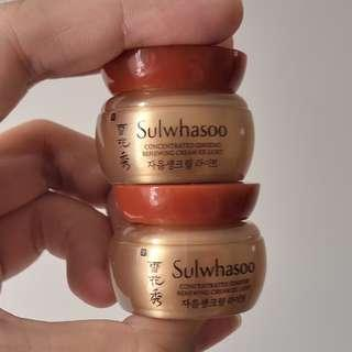 Sulwhasoo Concentrated Ginseng Renewing Cream EX Light 5ml x 2