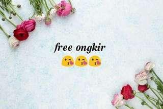 Free ongkir untuk kaca hexagonal