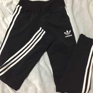Black adidas leggings / tights